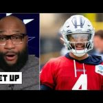 GET UP | Marcus Spears reacts to Cowboys hit with some other the most important Dak Prescott damage replace