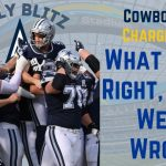 Dallas Cowboys Day by day Blitz – 9/21/21 – Cowboys 20, Chargers 17; What Went Proper, What Went Fallacious