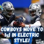 Dallas Cowboys BEAT Los Angeles Chargers 20-17 To Transfer To at least one-1 In Electrical Taste