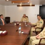 COAS receives briefing on inside safety, Afghanistan from ISI